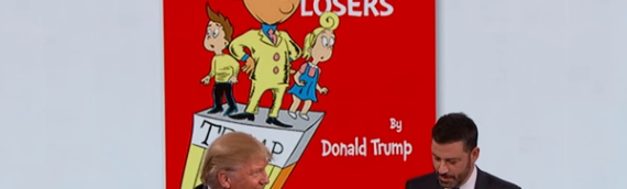 The Jimmy Kimmel book about Trump